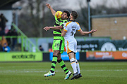 Forest Green Rovers Reuben Reid(26) controls the ball during the EFL Sky Bet League 2 match between Forest Green Rovers and Port Vale at the New Lawn, Forest Green, United Kingdom on 6 January 2018. Photo by Shane Healey.