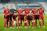 Fotball<br /> Foto: DPPI/Digitalsport<br /> NORWAY ONLY<br /> <br /> FOOTBALL - UEFA CHAMPIONS LEAGUE 2011/2012 - 1/4 FINAL- 1ST LEG - OLYMPIQUE MARSEILLE v BAYERN MÜNCHEN - 28/03/2012<br /> <br /> LAGBILDE BAYERN MÜNCHEN