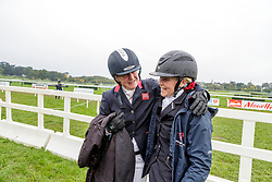 FRENCH  Piggy (GBR), SANDERSON Yasmin Nathalie (NOR)<br /> Le Lion d'Angers - FEI Eventing World Breeding Championship 2019<br /> Impressionen am Rande<br /> Teilprüfung Springen 6 jährige Finale<br /> 20. Oktober 2019<br /> © www.sportfotos-lafrentz.de/Stefan Lafrentz