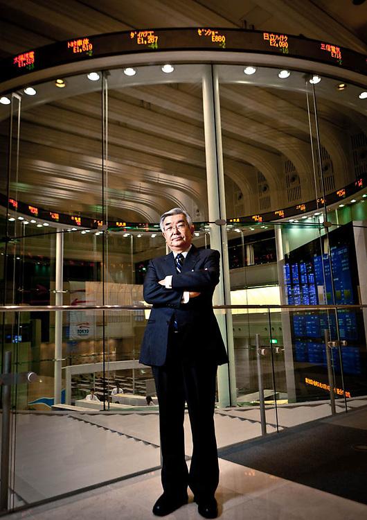 ATSUSHI SAITO / President & CEO Tokyo Stock Exchange Group, Inc. for The New York Times