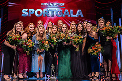 18-12-2019 NED: Sports gala NOC * NSF 2019, Amsterdam<br /> The traditional NOC NSF Sports Gala takes place in the AFAS in Amsterdam / Handbalsters, sportploeg van het jaar 2019