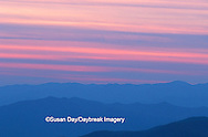 66745-01713 Sunset at Clingmans Dome Great Smoky Mtn NP   NC