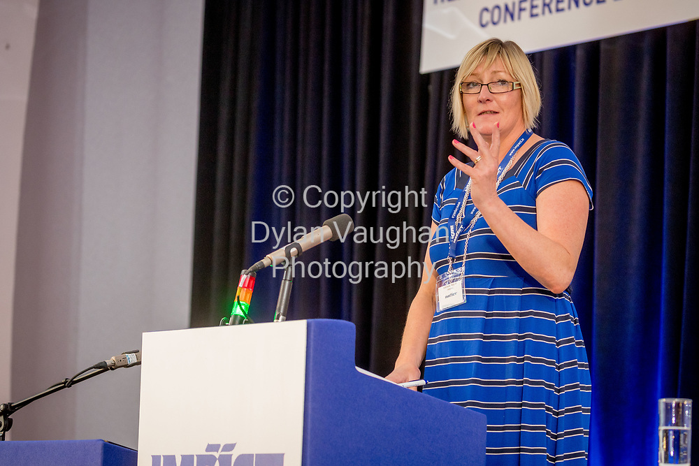 1-6-17<br /> <br /> Corinne Phelan, HWDEC pictured at the IMPACT Conference in Wexford.<br /> <br /> Picture Dylan Vaughan.