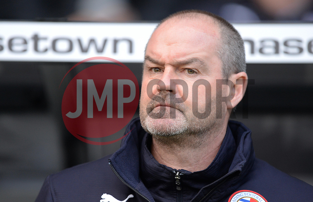 Reading Manager,Steve Clarke - Photo mandatory by-line: Alex James/JMP - Mobile: 07966 386802 - 14/02/2015 - SPORT - Football - Derby  - ipro stadium - Derby County v Reading - FA Cup - Fifth Round