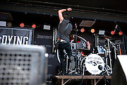 Art of Dying performing at Rock on the Range at Crew Stadium in Columbus, OH on May 22, 2011