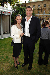 Presenter MARK DURDEN-SMITH and his wife RACHEL at the Lady Taverners Westminster Abbey Garden Party, The College Garden, Westminster Abbey, London SW1 on 10th July 2007.<br /><br />NON EXCLUSIVE - WORLD RIGHTS