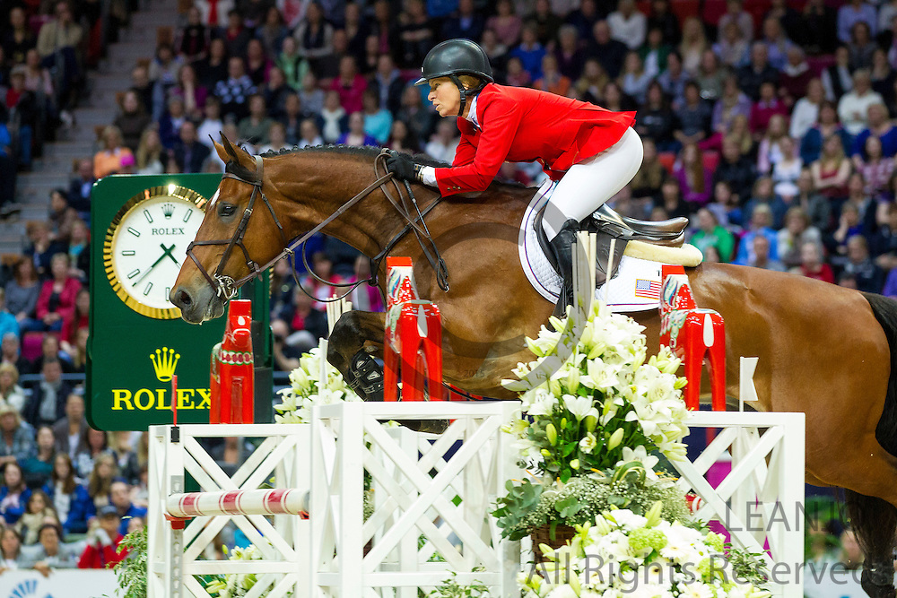 Beezie Madden - Simon<br /> Rolex FEI World Cup Final 2013<br /> &copy; DigiShots