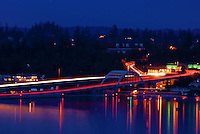 Lacey V. Murrow Floating Bridge, Interstate 90, Mercer Island