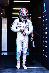 February 28, 2019 - Montmelo, BARCELONA, Spain - Lewis Hamilton of Great Britain with 44 Mercedes AMG Petronas Motorsport W10 portrait during the Formula 1 2019 Pre-Season Tests at Circuit de Barcelona - Catalunya in Montmelo, Spain on February 28. (Credit Image: © AFP7 via ZUMA Wire)
