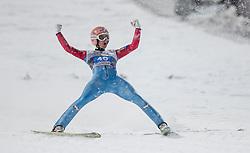 29.12.2014, Schattenbergschanze, Oberstdorf, GER, FIS Ski Sprung Weltcup, 63. Vierschanzentournee, Bewerb, im Bild Sieger Stefan Kraft (AUT) // Stefan Kraft of Austria// during Competition of 63 rd Four Hills Tournament of FIS Ski Jumping World Cup at Schattenbergschanze, Oberstdorf, GER on 2014/12/29. EXPA Pictures © 2014, PhotoCredit: EXPA/ Peter Rinderer