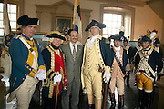 Newport, RI  - July 2005 - Renactment celebration marking the 225th anniversary of Rochambeau's landing in America and the French joining the American Revolution.
