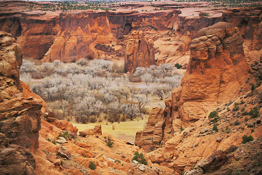 Canyon de Chelly in Arizona in the American Southwest