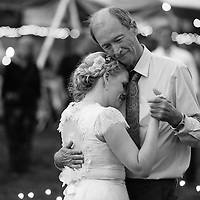 Kevin & Morgan pictured during their wedding at Clary Gardens in Coshocton, Ohio.