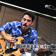 Local Natives play the B Stage at the 2010 Pitchfork Music Festival