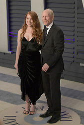 February 24, 2019 - Beverly Hills, California, U.S - Paige Howard and Ron Howard on the red carpet of the 2019 Vanity Fair Oscar Party held at the Wallis Annenberg Center in Beverly Hills, California on Sunday February 24, 2019. JAVIER ROJAS/PI (Credit Image: © Prensa Internacional via ZUMA Wire)