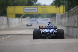 June 1, 2018 - Detroit, Michigan, United States of America - SCOTT DIXON (9) of New Zealand takes to the track for a practice session for the Detroit Grand Prix at Belle Isle Street Course in Detroit, Michigan. (Credit Image: © Stephen A. Arce/ASP via ZUMA Wire)
