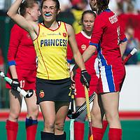 third place Spain v Russia OQT Belgium women 2012