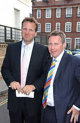 Left to right, MARK BOLLAND and GUY BLACK at Sir David & Lady Carina Frost's annual summer party held in Carlyle Square, Chelsea, London on 5th July 2006.<br /><br />NON EXCLUSIVE - WORLD RIGHTS