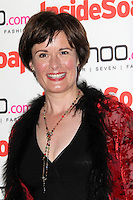 LONDON - SEPTEMBER 24: Catherine Russell attended the 'Inside Soap Awards' at One Marylebone, London, UK. September 24, 2012. (Photo by Richard Goldschmidt)