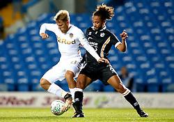 Samu Saiz of Leeds United takes on Marcus Harness of Port Vale - Mandatory by-line: Robbie Stephenson/JMP - 09/08/2017 - FOOTBALL - Elland Road - Leeds, England - Leeds United v Port Vale - Carabao Cup