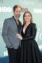 Amy Adams and Darren Le Gallo at the Los Angeles premiere of HBO's Limited Series 'Sharp Objects' held at the Cinerama Dome in Hollywood, USA on June 26, 2018.