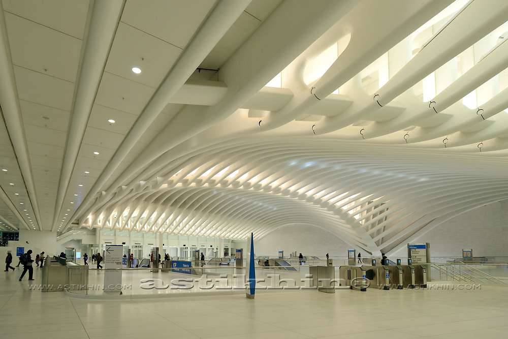 World Trade Center station, Oculus (PATH).