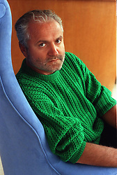 March 16, 1993 - In this March 16, 1993 file photograph, Italian designer Gianni Versace, looks out from a second story window at the Marlin Hotel overlooking his patio, at Ocean Drive, Miami Beach, Florida. (Marice Cohn Band/Miami Herald/MCT) (Credit Image: © Marice Cohn Band/MCT/ZUMAPRESS.com)