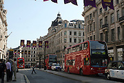 The Oxford Circus area of London, England. London has experienced record breaking sunny and dry weather this summer.