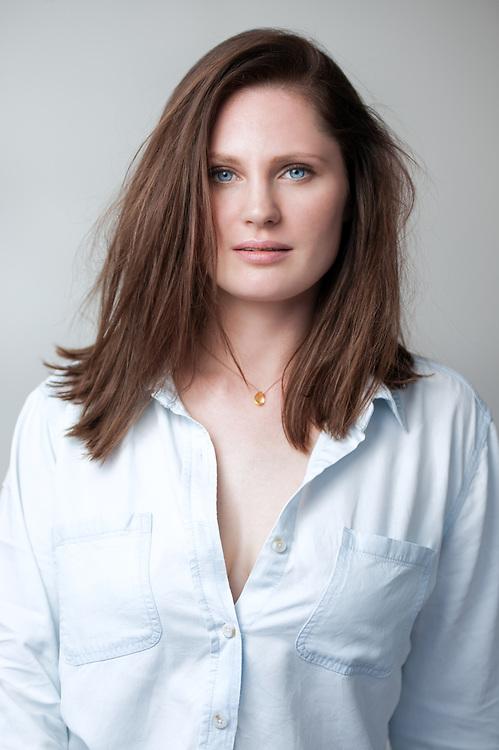 Headshot of young model/actress
