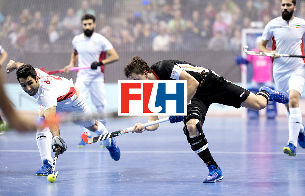 BERLIN - Indoor Hockey World Cup<br /> Semi-final 1: Germany - Iran<br /> foto: Tobias Hauke.<br /> WORLDSPORTPICS COPYRIGHT FRANK UIJLENBROEK