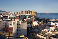View of Las Palmas in the Canary Islands,
