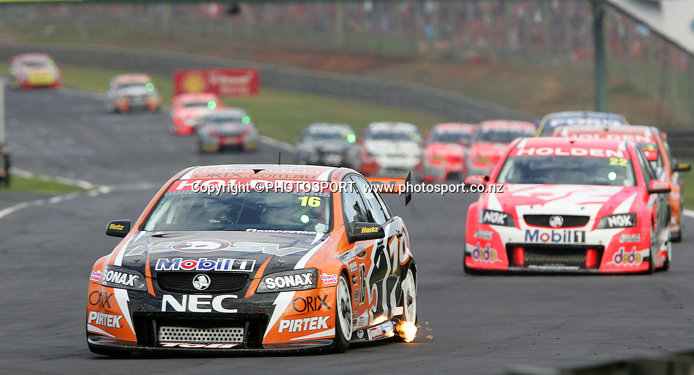 Toll HSV Dealer Team's RGarth Tander in action in Race 3 at the Placemaker V8 Supercars in Pukekohe, New Zealand, on Sunday 22 April 2007. Toll HSV Dealer Team's Rick Kelly won race 3 and the series. Photo: Michael Bradley/PHOTOSPORT