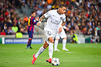 Gregory VAN DER WIEL - 21.04.2015 - Barcelone / Paris Saint Germain - 1/4Finale Retour Champions League<br />