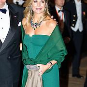 NLD/Amsterdam/20161129 - Staatsbezoek dag 2, contraprestatie Belgische koningspaar, Koningin Maxima