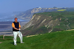 NORMANDY, FRANCE - MAY-01-2007 - Omaha Beach Golf Club Pro Nicolas Poillot - Course: La Mer (The Sea) - Hole 6 - 469 yards - Par 4.(Photo © Jock Fistick)