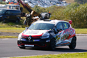 Brett Lidsey(GBR) MRM at Leslies during Round 14 of the Renault UK Clio Cup at Knockhill Racing Circuit, Dunfermline, Scotland on 15 September 2019.