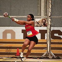 Osereme Omosun, Calgary, 2019 U SPORTS Track and Field Championships on Thu Mar 07 at James Daly Fieldhouse. Credit: Arthur Ward/Arthur Images