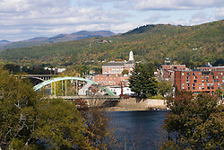 Rumford, Maine and the Androscoggin River.