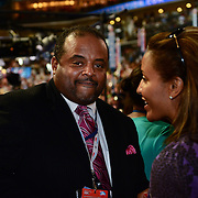 CNN political contributor Roland S. Martin on the floor at the 2012 Democratic National Convention in Charlotte, NC
