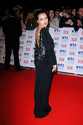 Georgia May Foote at the National Television Awards held in London on Wednesday, 25th January 2012. Photo by: i-Images