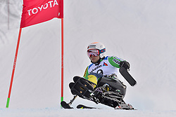 KANO Akira LW11 JPN at 2018 World Para Alpine Skiing World Cup, Veysonnaz, Switzerland