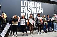 London Fashion Week SS18 - Day 1 - 15 Sep 2017