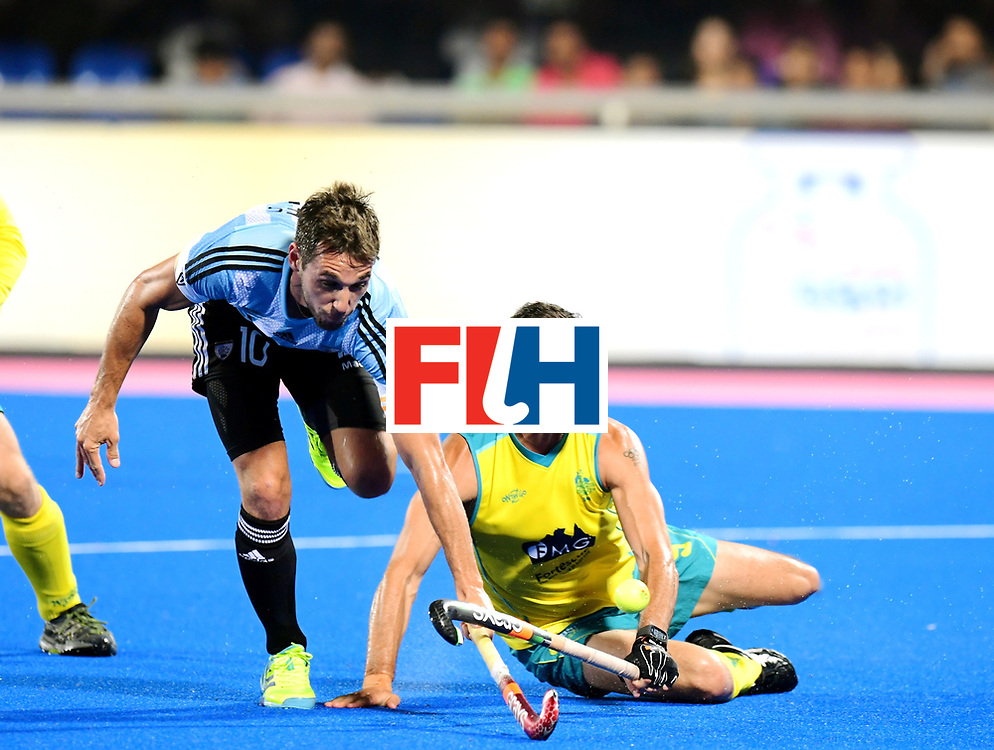 Odisha Men's Hockey World League Final Bhubaneswar 2017<br /> Match id:22<br /> Argentina v Australia Final<br /> Foto: Matias Paredes (Arg)  <br /> COPYRIGHT WORLDSPORTPICS FRANK UIJLENBROEK