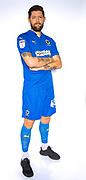 AFC Wimbledon midfielder Anthony Wordsworth (40) during the official team photocall for AFC Wimbledon at the Cherry Red Records Stadium, Kingston, England on 8 August 2019.