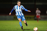 Brighton & Hove Albion midfielder Joe Ward (38) during the EFL Trophy match between Stevenage and Brighton and Hove Albion at the Lamex Stadium, Stevenage, England on 4 October 2016.
