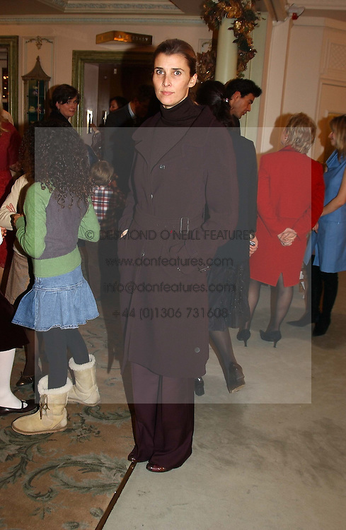 PRINCESS ROSSARIO OF BULGARIA  at a children's party in aid of the charity Over The Wall held at Fortnum & Mason, Piccadilly, London before a gala premiere of the new musical Mary Poppins at The Prince of Wales Theatre, Old Compton Street, London W1<br />