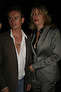 Jon Lee ( S Club 7) and Laurie Brell, Press night for Sunday in the Park with George, Inn The Park, St james Park opp ICA. 23 May 2006. <br />ONE TIME USE ONLY - DO NOT ARCHIVE  © Copyright Photograph by Dafydd Jones 66 Stockwell Park Rd. London SW9 0DA Tel 020 7733 0108 www.dafjones.com