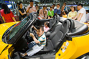 Seoul Motor Show 2005 at Korea International Exhibition Center (KINTEX).