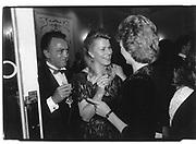 Wafic Said. Mrs.Ronald Ferguson. Leila's Evening for Charity. NSPCC. 8th June 1987© Copyright Photograph by Dafydd Jones 66 Stockwell Park Rd. London SW9 0DA Tel 020 7733 0108 www.dafjones.com