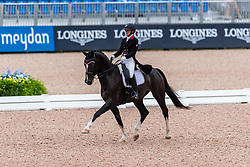 TRUSSELL Belinda (CAN), Tattoo<br /> Tryon - FEI World Equestrian Games™ 2018<br /> Grand Prix de Dressage Teamwertung und Einzelqualifikation<br /> 12. September 2018<br /> © www.sportfotos-lafrentz.de/Stefan Lafrentz